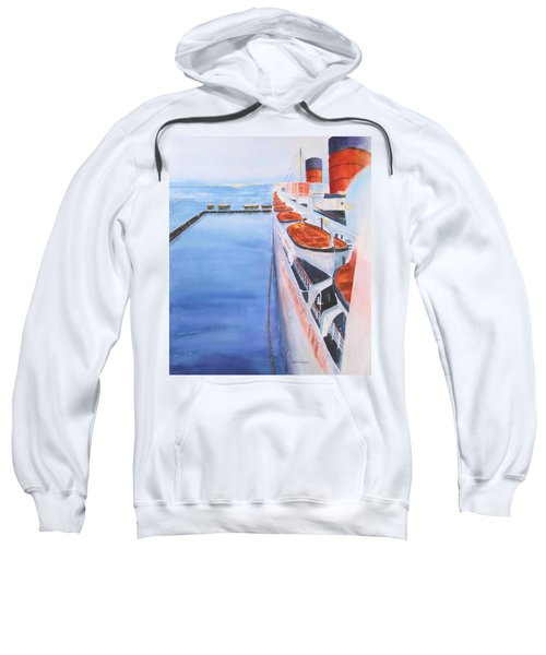 Queen Mary From The Bridge Sweatshirt