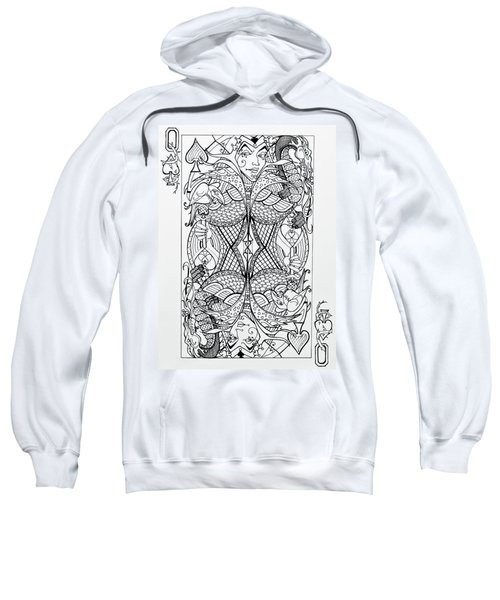 Queen Of Spades  Sweatshirt