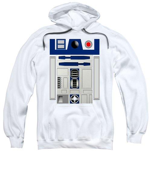R2d2 Sweatshirt by Janis Marika