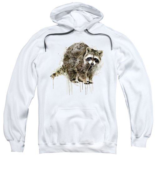Raccoon Sweatshirt by Marian Voicu