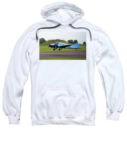 Raf Scampton 2017 - Avro Anson Nineteen During Take Off Sweatshirt