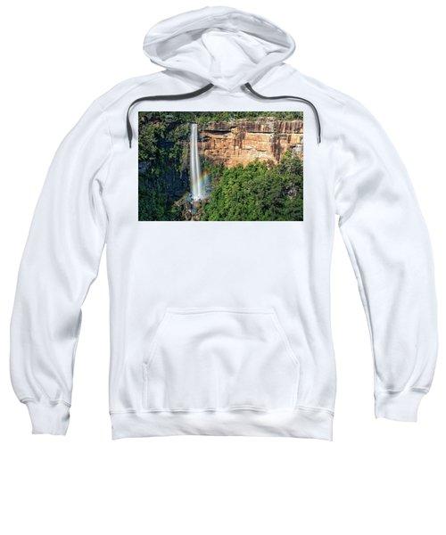 Rainbow At Fitzroy Falls Sweatshirt