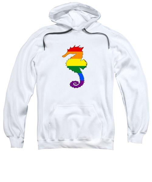 Rainbow Seahorse Sweatshirt