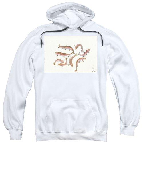 Rainbow Trout Sweatshirt