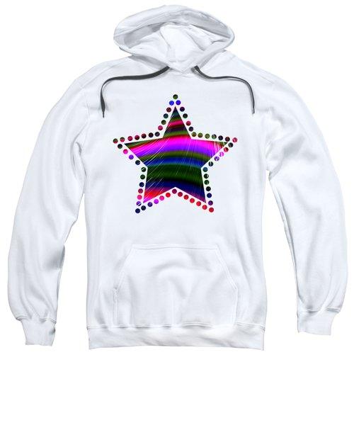 Rainbow Waves Sweatshirt