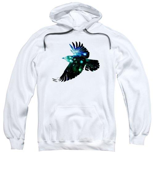 Raven Sweatshirt by Anastasiya Malakhova