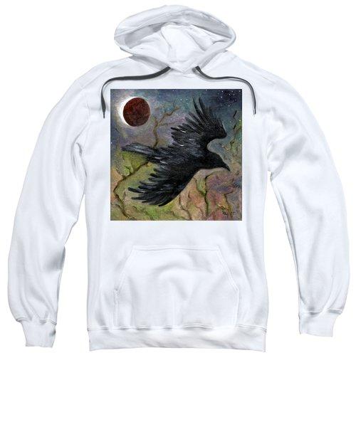 Raven In Twilight Sweatshirt