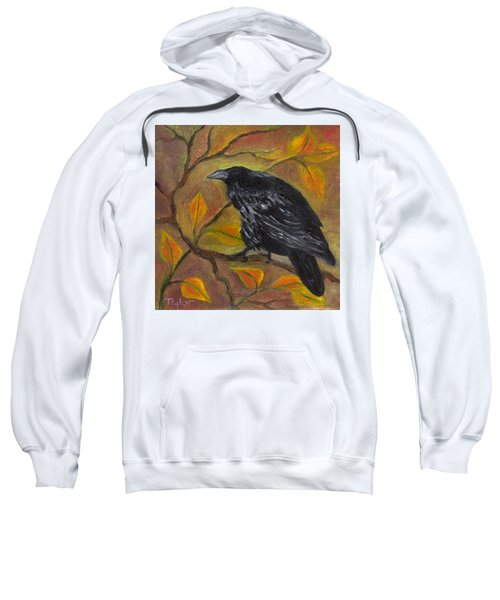 Raven On A Limb Sweatshirt