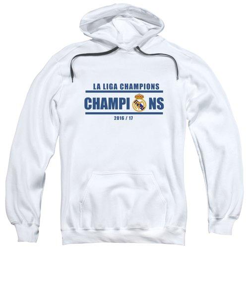 Real Madrid La Liga Champions  Sweatshirt