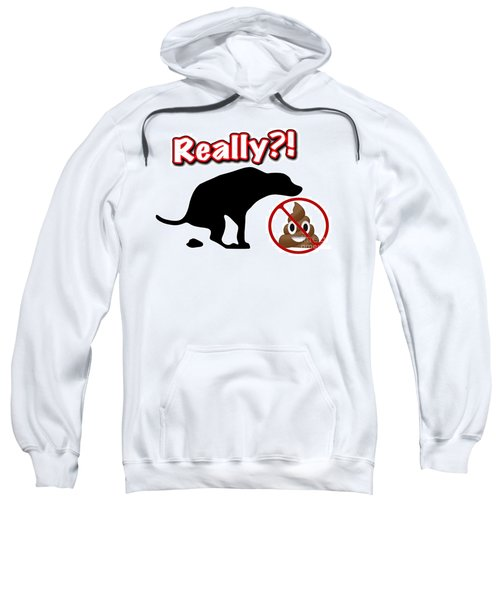 Really No Poop Sweatshirt