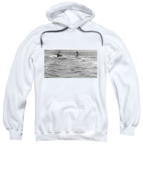 Really Riding The Waves Sweatshirt