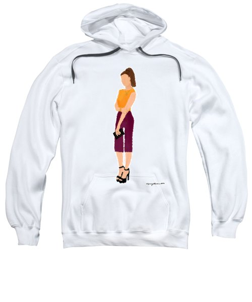 Sweatshirt featuring the  Rebecca by Nancy Levan