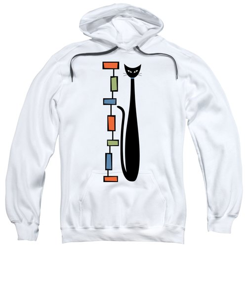 Rectangle Cat  Sweatshirt
