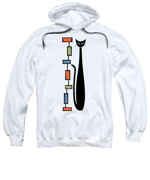 Rectangle Cat  Sweatshirt