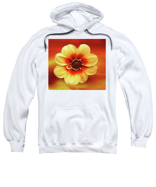 Red And Yellow Inspiration Sweatshirt