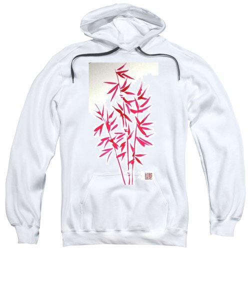 Red Bamboo Sweatshirt