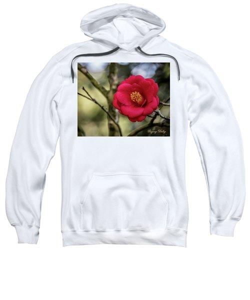 Red Camelia 05 Sweatshirt