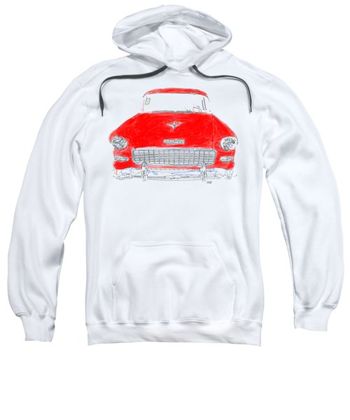 Red Chevy T-shirt Sweatshirt
