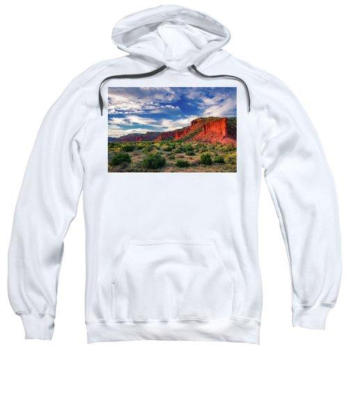 Red Cliffs Of Caprock Canyon 2 Sweatshirt