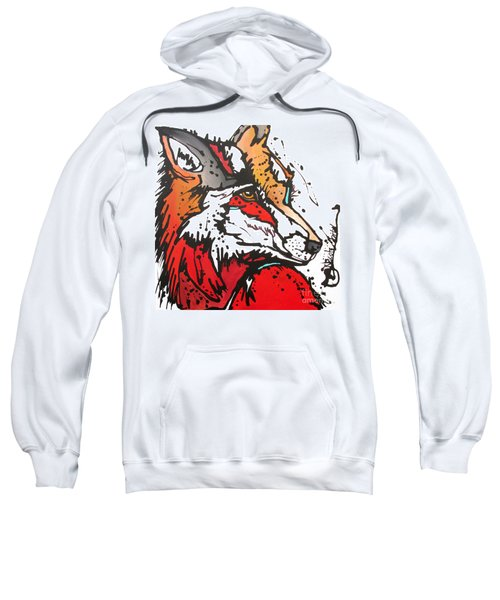 Red Fox Sweatshirt