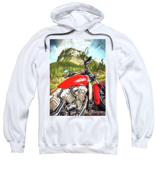 Red Indian Summer Sweatshirt