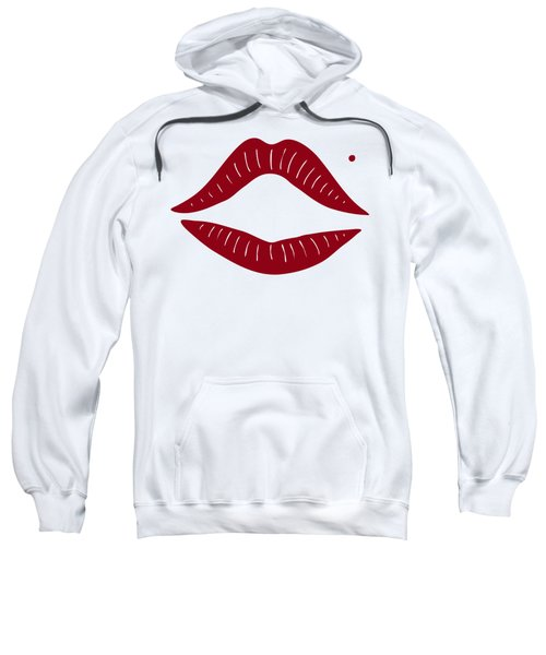 Red Lips Sweatshirt