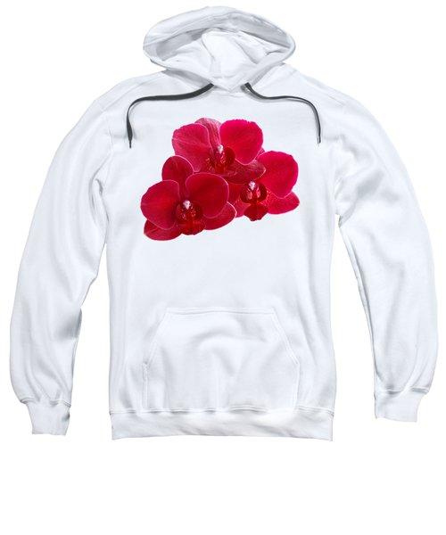 Red Orchid Trio Sweatshirt