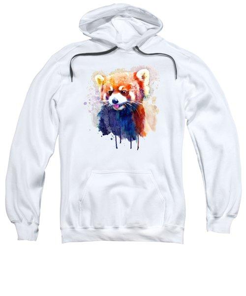 Red Panda Portrait Sweatshirt