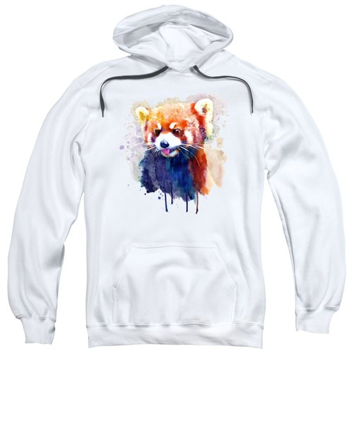 Red Panda Portrait Sweatshirt