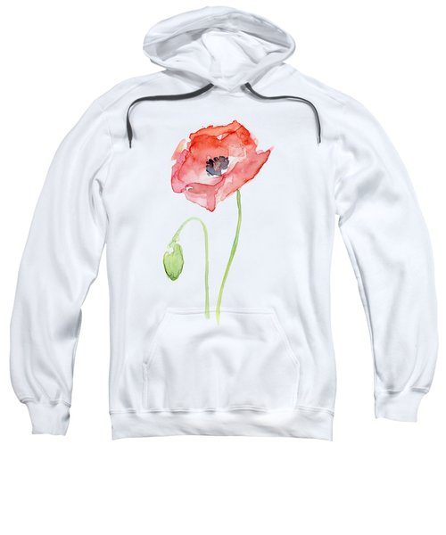 Red Poppy Sweatshirt