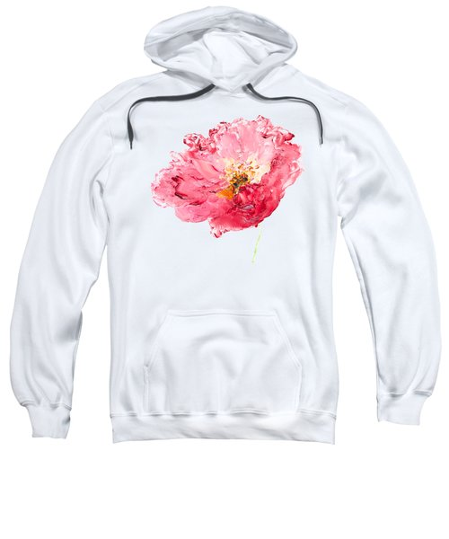 Red Poppy Painting Sweatshirt