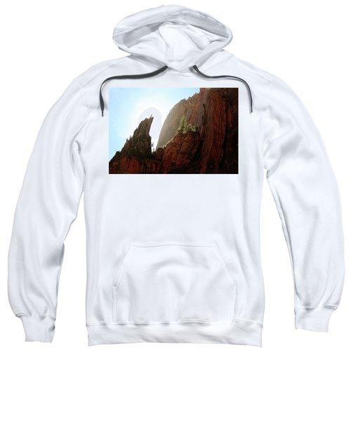 Red Rock At Zion Sweatshirt