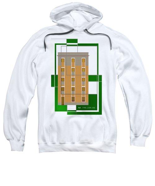 Ref. 7 House Over Green Sweatshirt