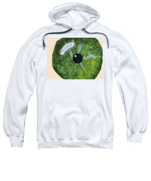Reflected In The Eye Of A Child Never Born Sweatshirt