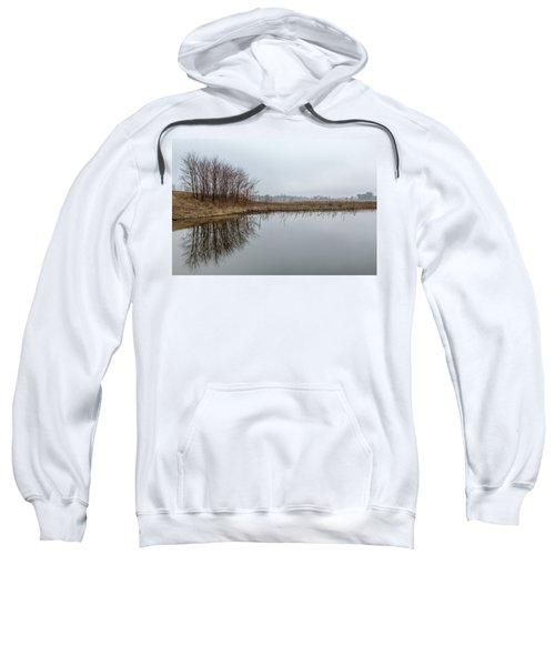 Reflected Trees Sweatshirt