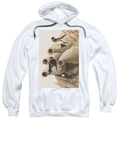 Republican Or Cliff Swallow Sweatshirt by John James Audubon