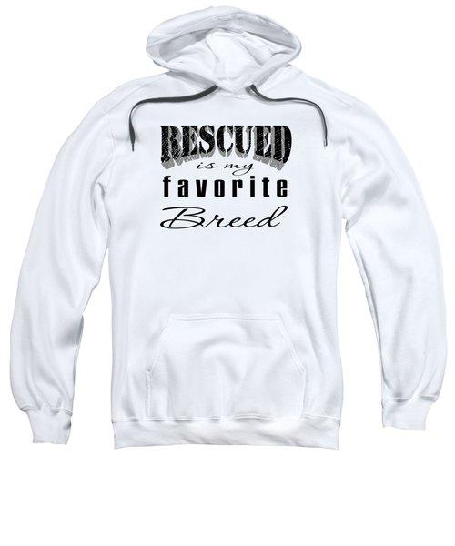 Rescued Pencil Dark Sweatshirt