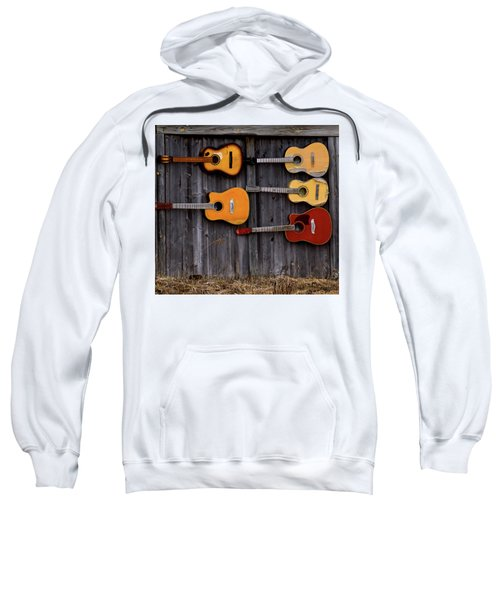 Retired Guitars  Sweatshirt