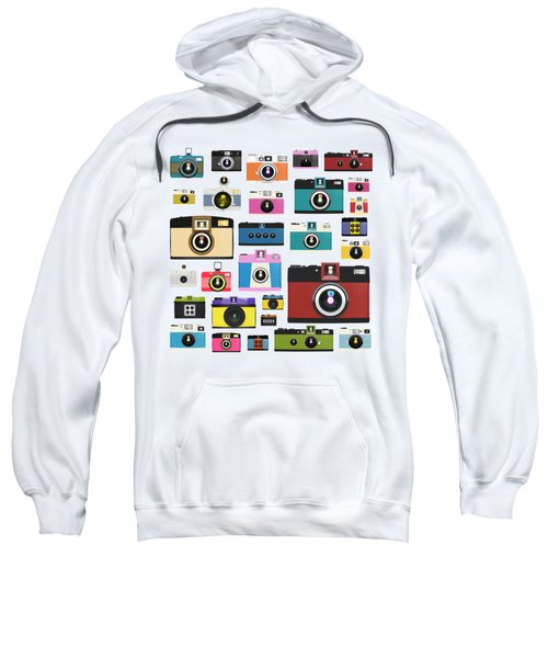Retro Camera Sweatshirt