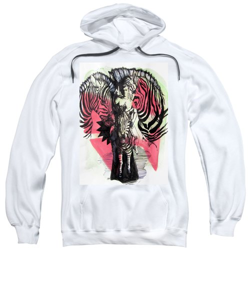 Return Of Zebra Boy Sweatshirt