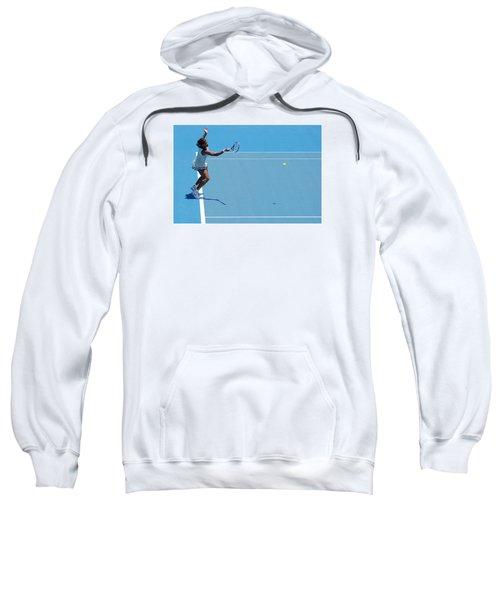 Return - Serena Williams Sweatshirt by Andrei SKY