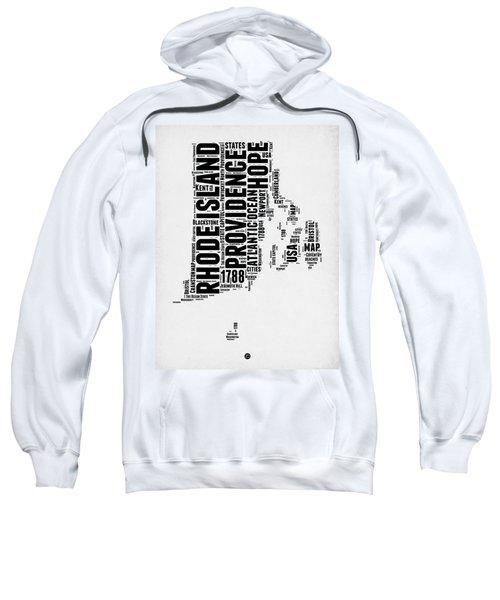 Rhode Island Word Cloud 1 Sweatshirt