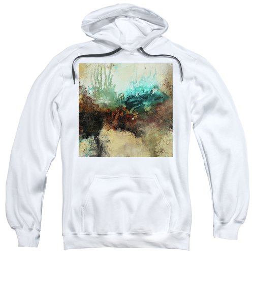 Rich Earth Tones Abstract Not For The Faint Of Heart Sweatshirt