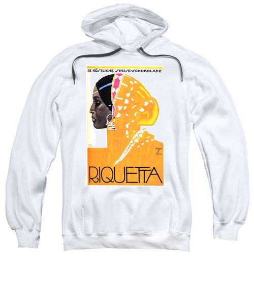 Riquetta - Food And Drink - Vintage Advertising Poster Sweatshirt