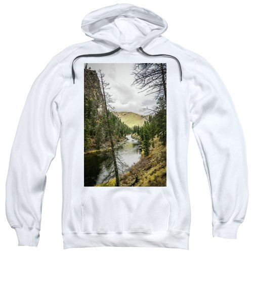 River In The Canyon Sweatshirt