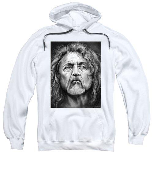 Robert Plant Sweatshirt by Greg Joens