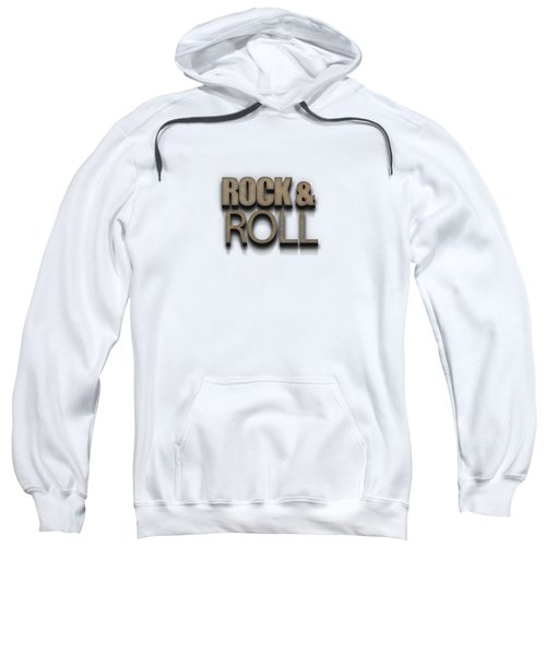 Rock And Roll Tee Stone Sweatshirt