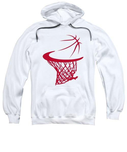 Rockets Basketball Hoop Sweatshirt