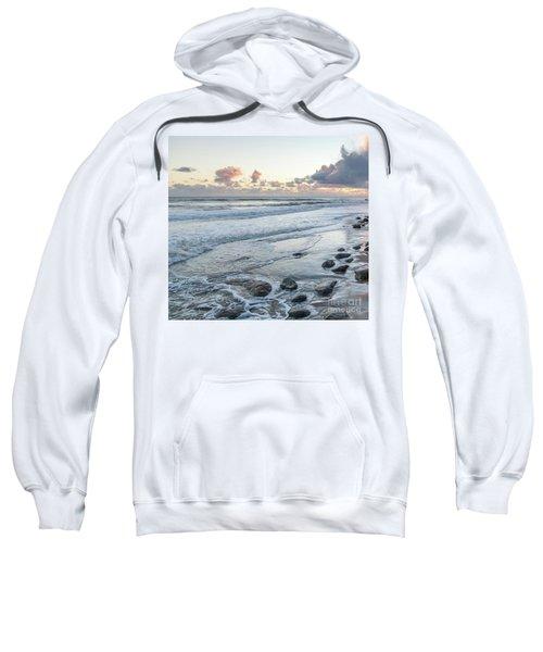 Rocks On The Beach During Sunset Sweatshirt