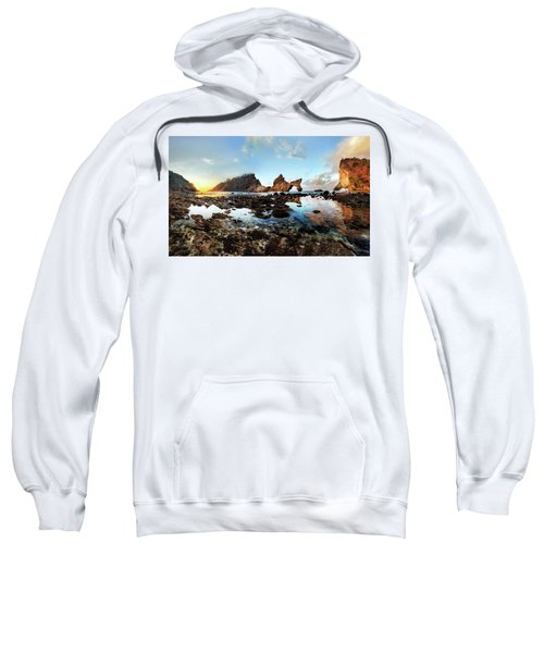Rocky Beach Sunrise, Bali Sweatshirt